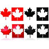 170x170 Clip Art Of Canadian Maple Leaf K17847818