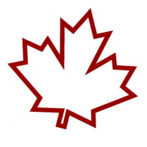 500x500 Maple Leaf Clipart Canadian Flag