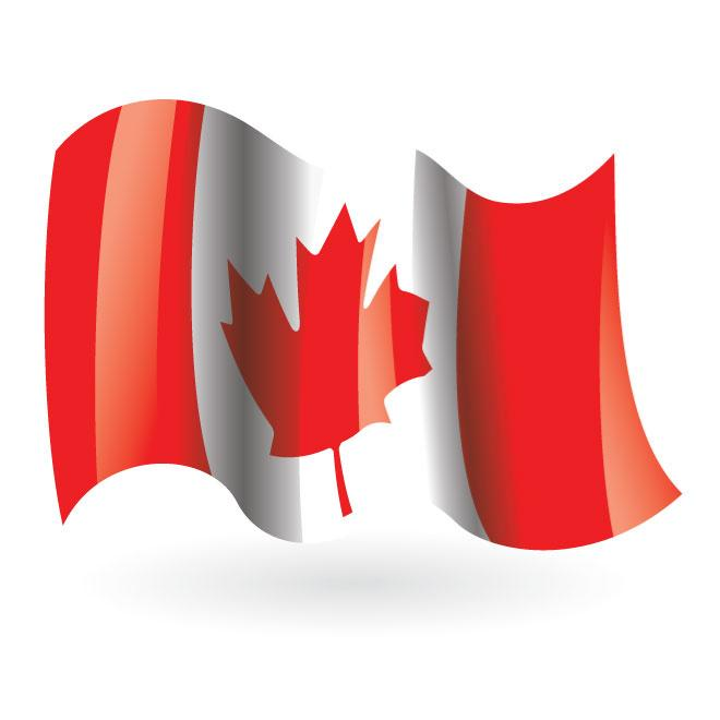 660x660 Canadian flag vector clip art