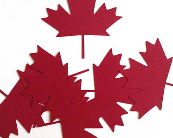340x270 Canadian Maple Leaf Etsy