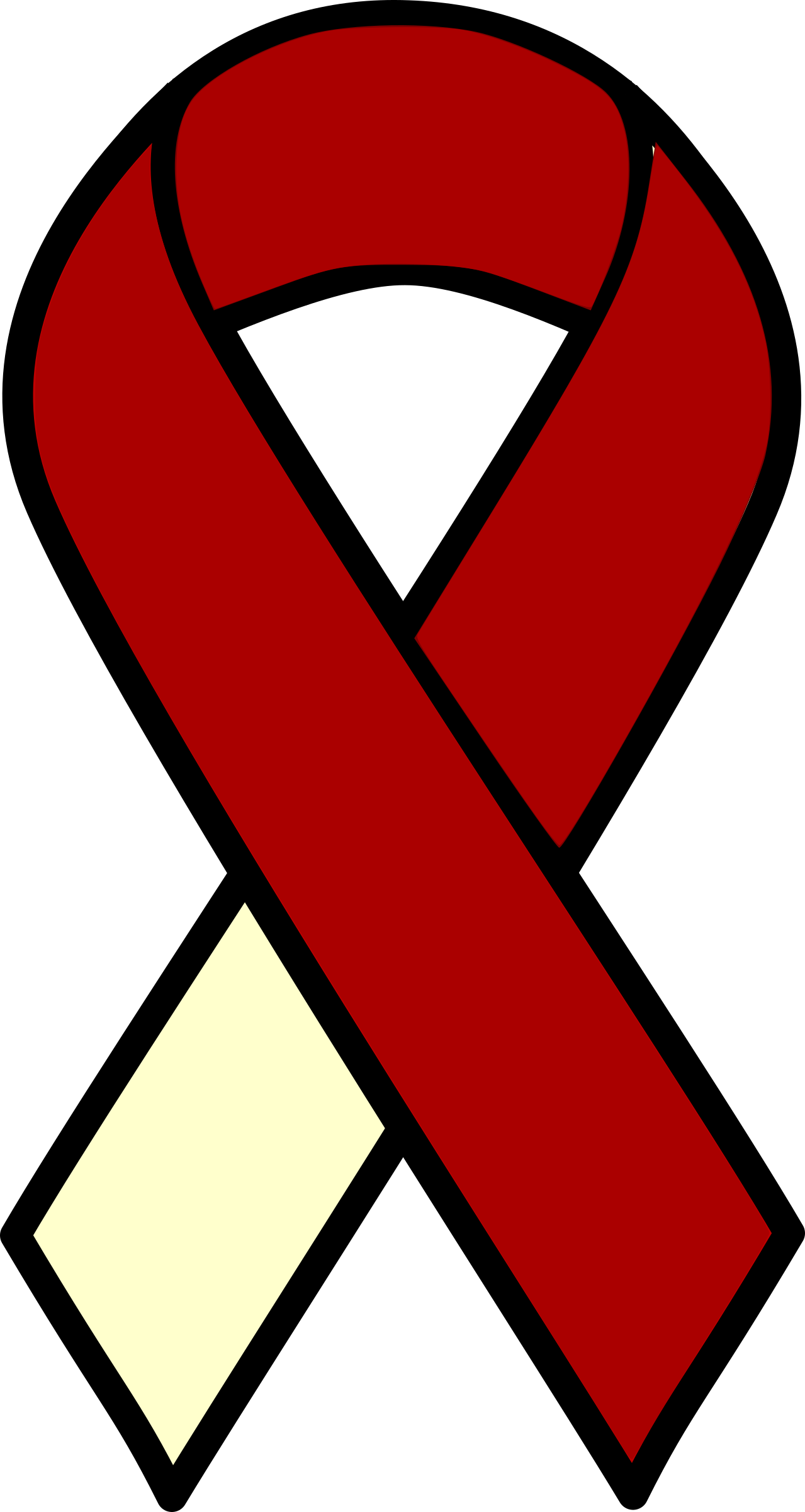 1279x2400 Cancer Ribbon Clipart Hostted