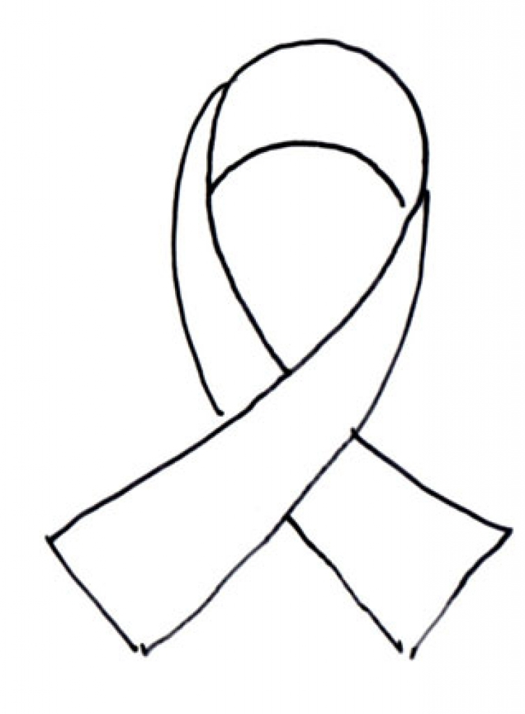 753x1024 Breast Cancer Awareness Coloring Pages Pictures Of Breast Cancer