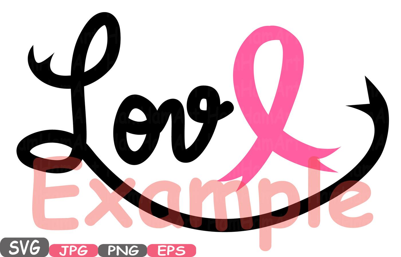 1400x897 Faith Hope Love Cancer Ribbons Svg Clipart Silhouette Word Art