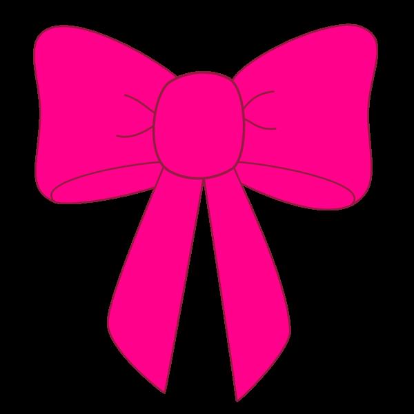 600x600 Pink Ribbon Clip Art Clipart Image