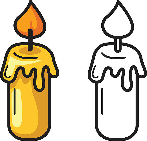 612x590 Candle Clipart Candle Wax