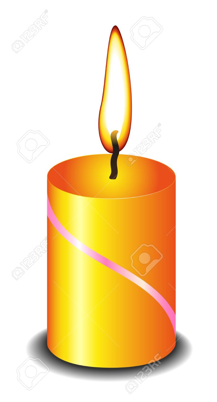 703x1300 Candle Clipart, Suggestions For Candle Clipart, Download Candle