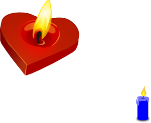 297x243 Candle Clipart Burning