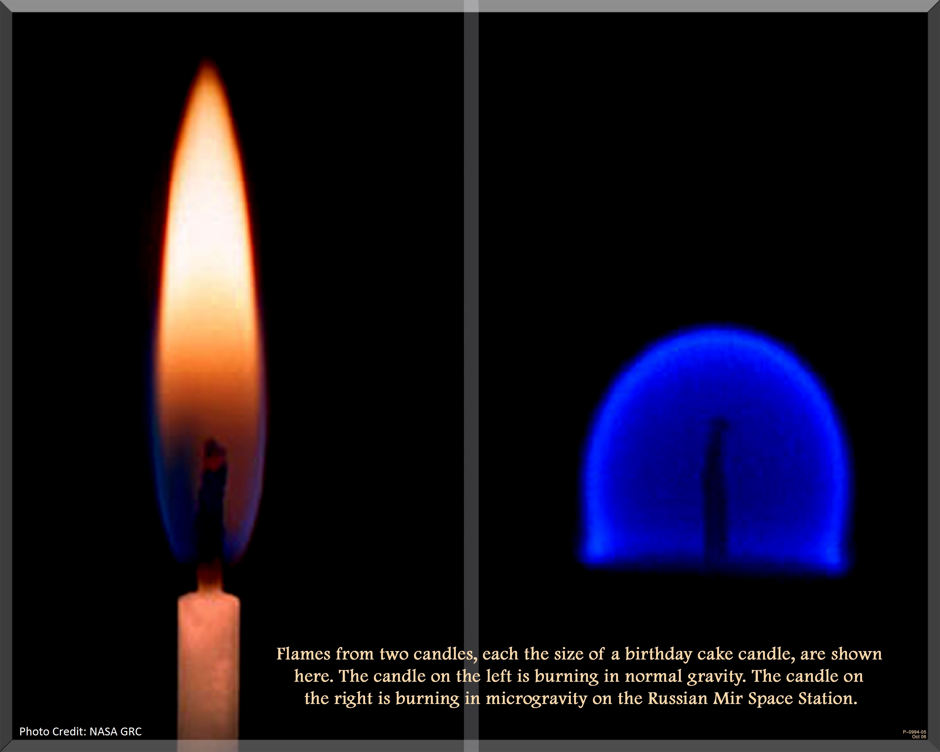 3000x2400 Flames In Space Image Poll Two Candle Flames Npj Microgravity