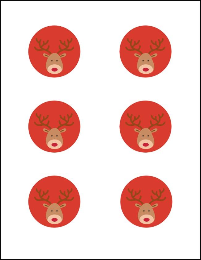 650x840 Candy Cane Reindeer