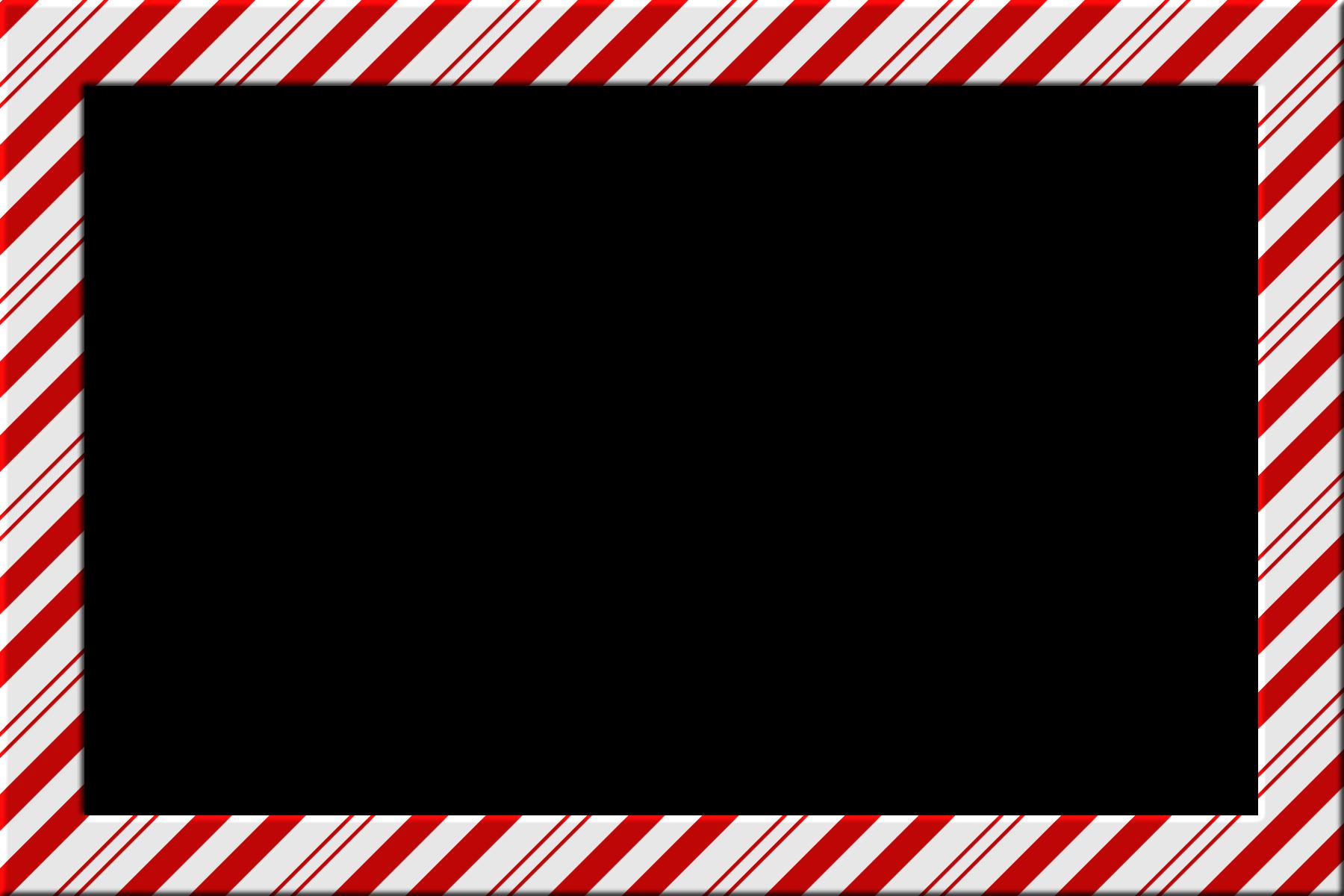 1800x1200 Candy Cane Border Clip Art Free