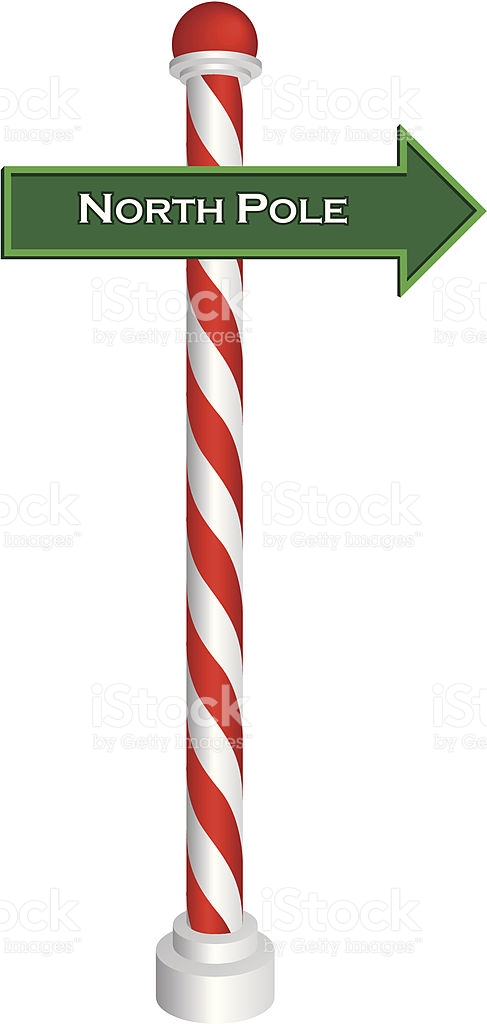 487x1024 Candy Cane Clipart Pole