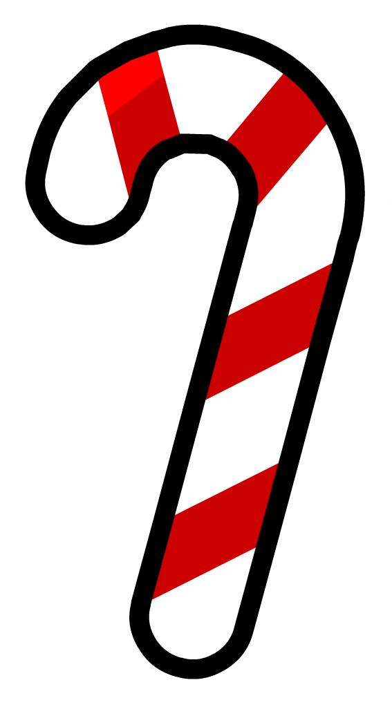567x1023 Candy Cane Clipart Transparent Background