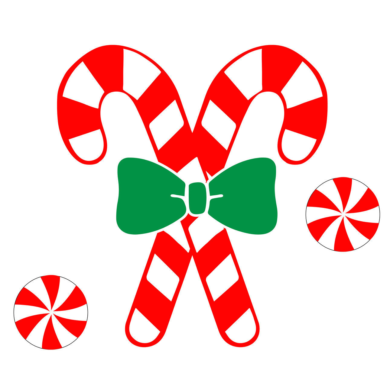 1280x1280 Free Candy Cane Svg Cut File Craftables