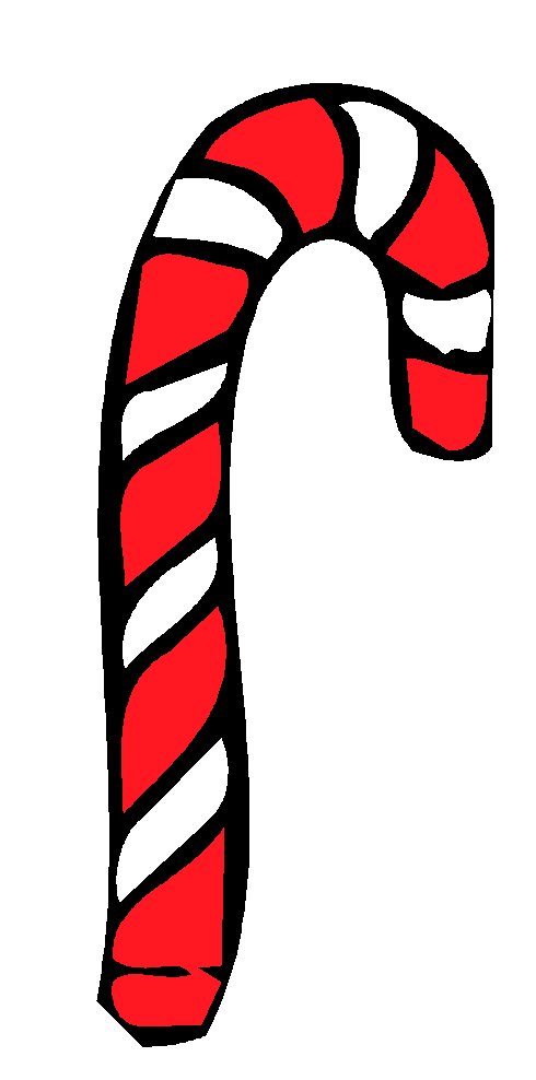 490x988 Candy Cane Clip Art Candy Cane Factscandy Cane Facts 6