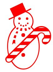 171x232 Christmas Candy Clipart