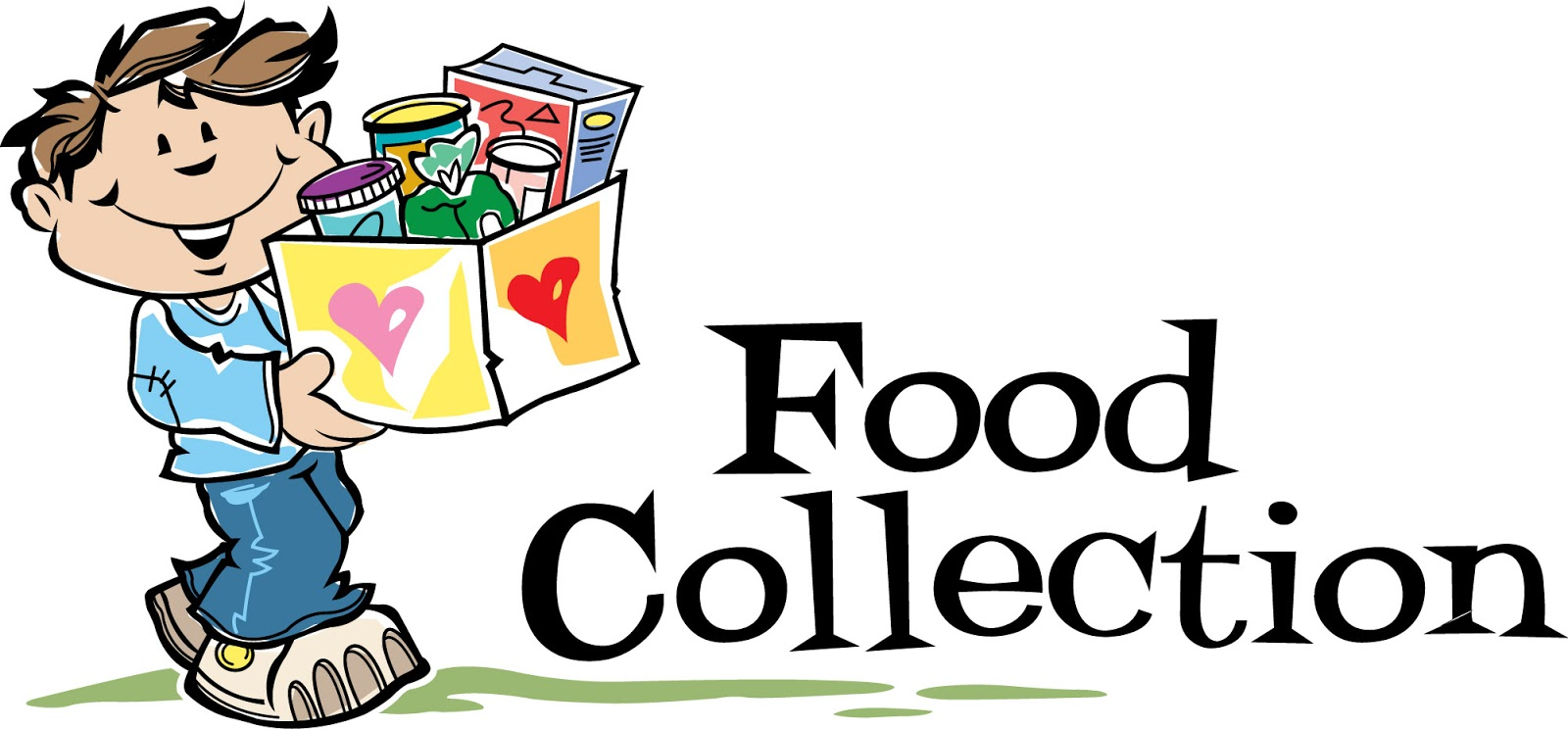 1600x744 Canned Food Church Donation Clipart Kid