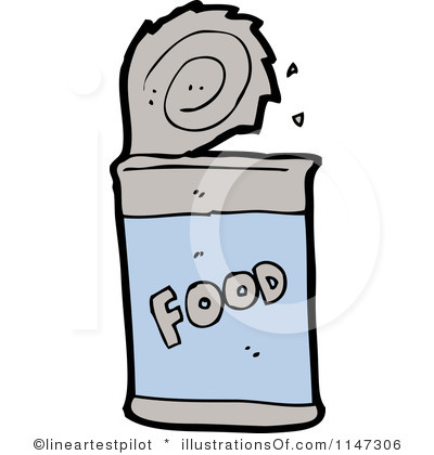 400x420 Canned Food Clipart