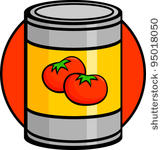 163x150 Canned Food Clip Art