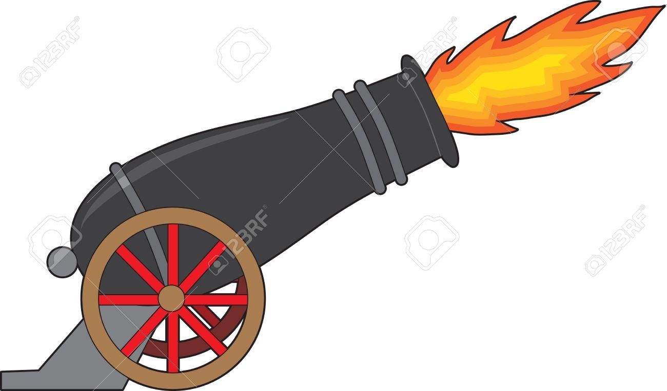 1300x763 Civil War Clipart Cannon Firing