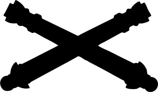 548x321 Crossed Cannons Clip Art