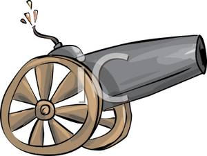 300x226 Art Image A Cannon On Wheels