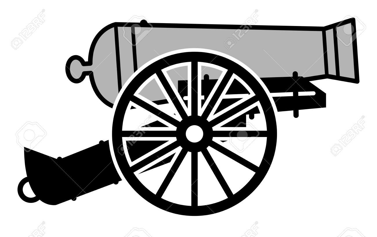 1300x820 Wheel Clipart Cannon