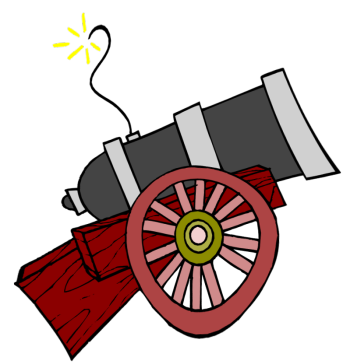 350x364 Cannon Clipart Circus Cannon Clipart 31 Print Coloring Pages