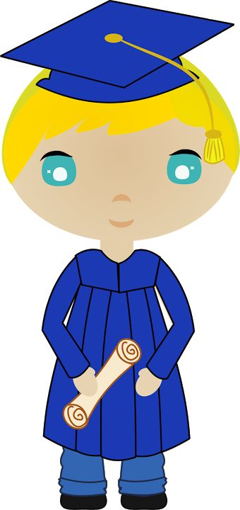 Cap And Gown Clipart