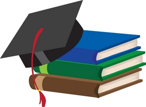 300x220 Graduating Clipart Image