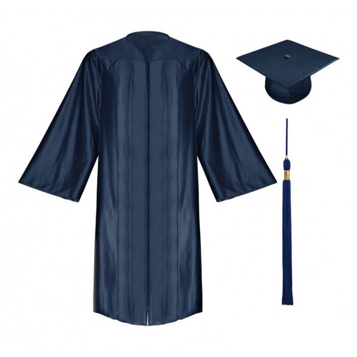 700x700 2016 Unisex Shiny Bachelor Graduation Cap Amp Gown School Uniform