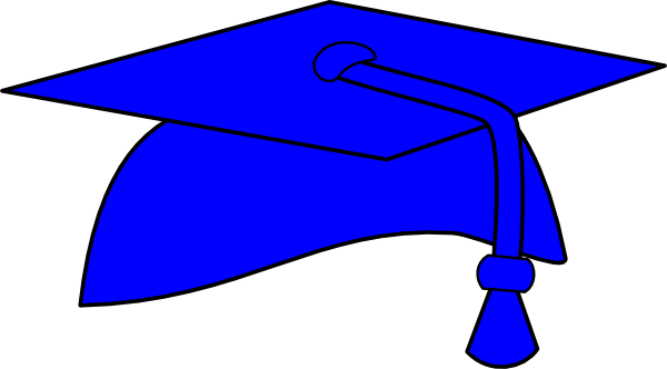 600x332 Graduation Cap And Gown Clipart