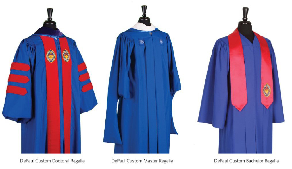 1016x589 Academic Dress Tradition Depaul University Commencement