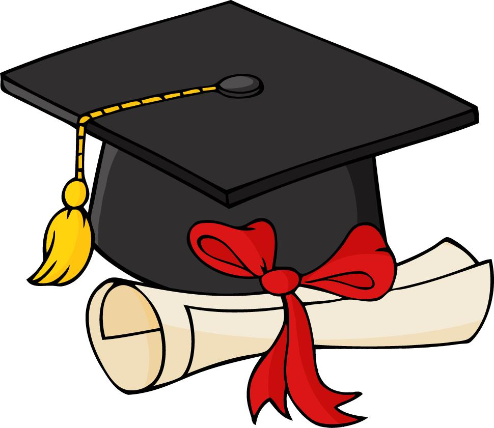 970x841 Graduation Cap And Gown Clipart 2