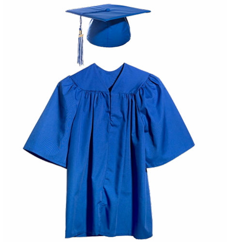 500x500 High Quality Supply Kindergarten Cap Gown Wholesale