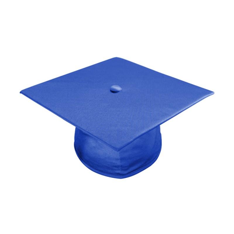 800x800 Shiny Royal Blue Elementary Cap, Gown Amp Tassel Gradshop