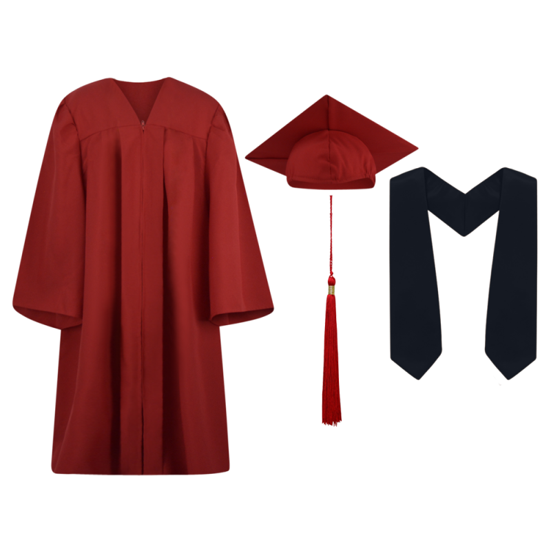 800x800 Cap And Gown, Cap Gown And Tassel, Graduation, Stole,