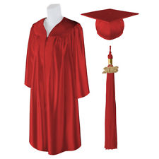 225x225 Red Graduation Gown Cap Ebay