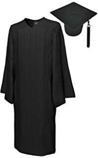 198x320 Black Cap And Gown Family Clothes