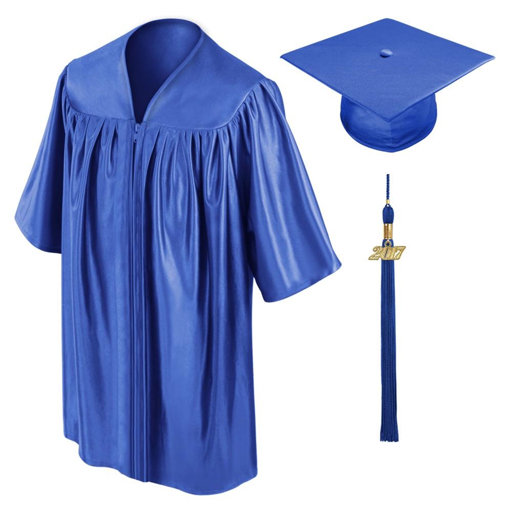 1000x1000 Royal Blue Preschool Cap, Gown Amp Tassel Gradshop
