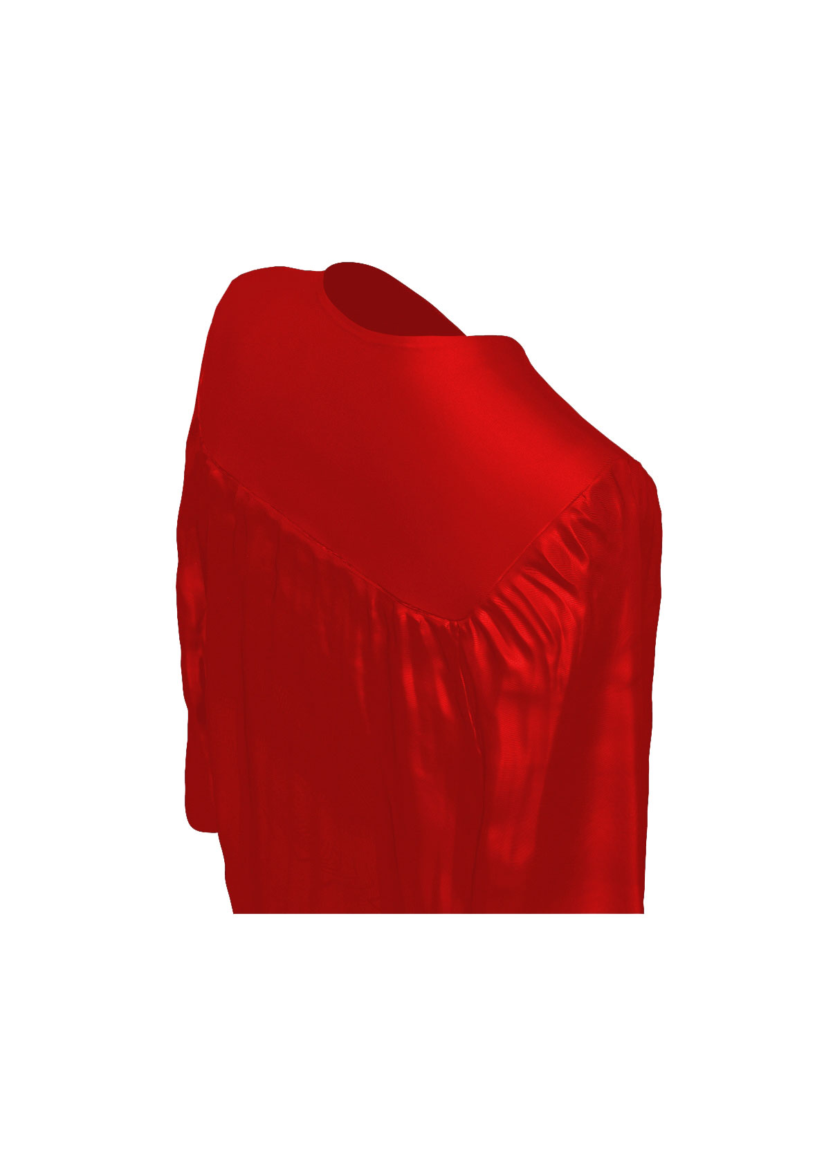 1178x1701 Shiny Red Cap Amp Gown Elementary School Graduation Set Rs4251465607860