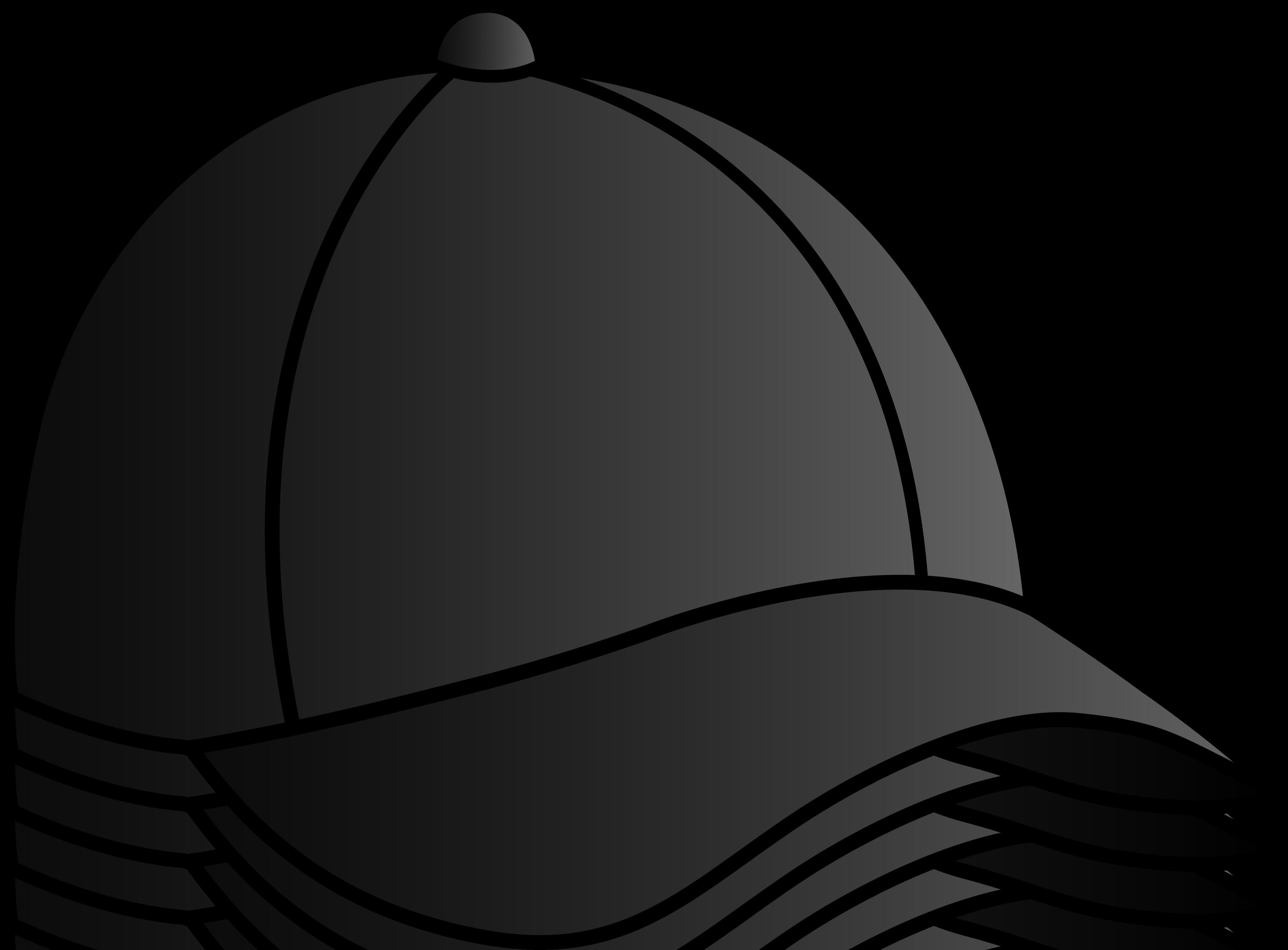 5444x4015 Black Baseball Cap
