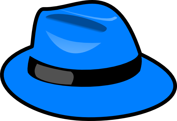 600x410 Blue Hat Clip Art