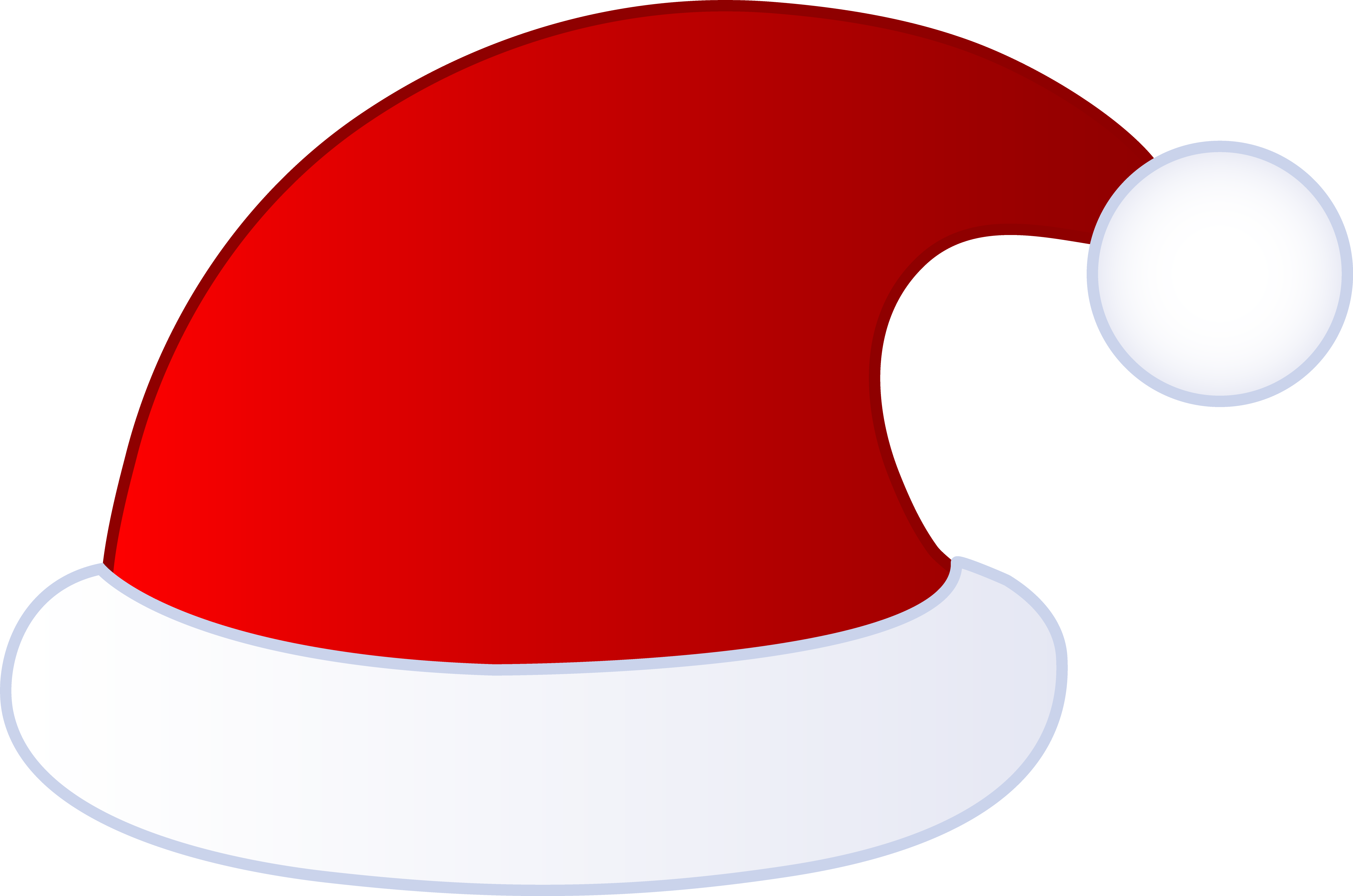 4938x3271 Red Santa Claus Hat