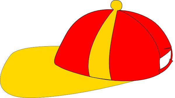 600x337 Yellow Red Cap Clip Art
