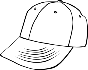 Cap Clipart Black And White