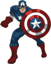 164x208 Captain America Clip Art