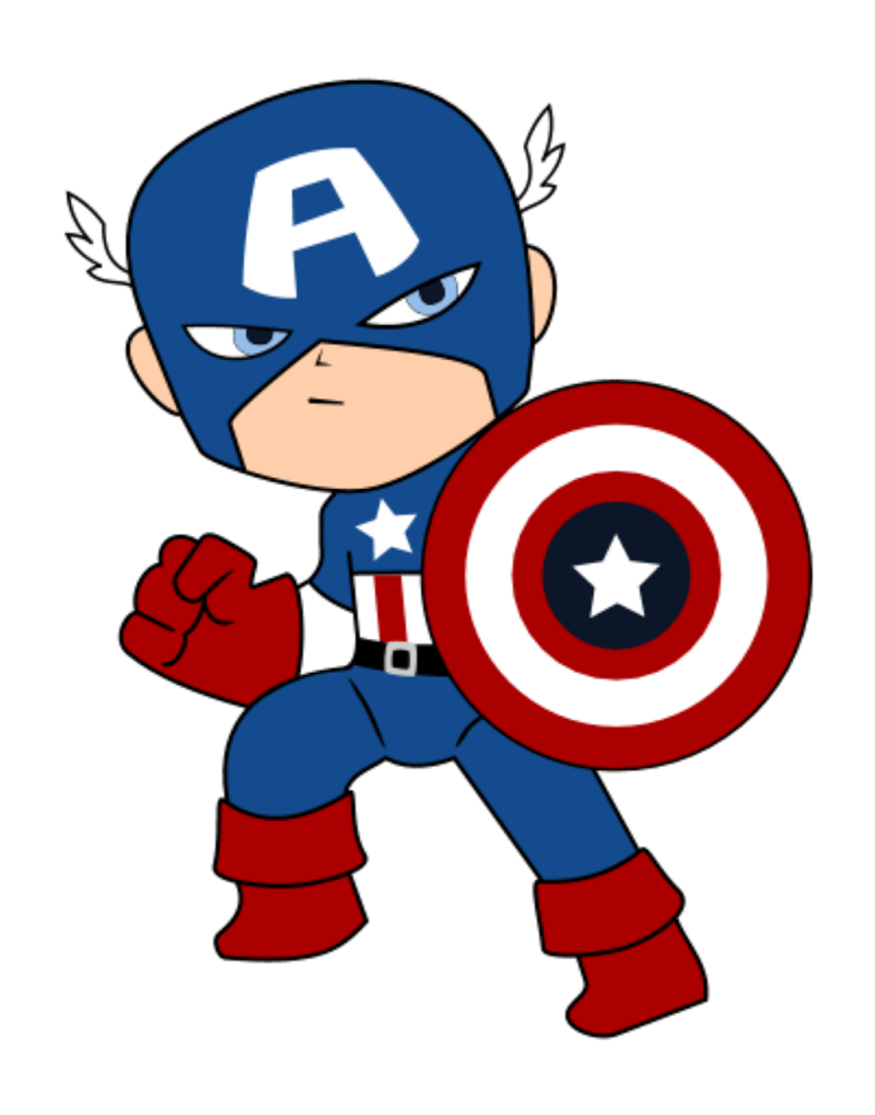 Captain america simple. Clip free download best
