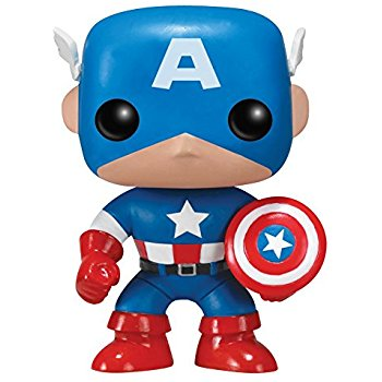 350x350 Captain America Funko Pop! Marvel Toys amp Games