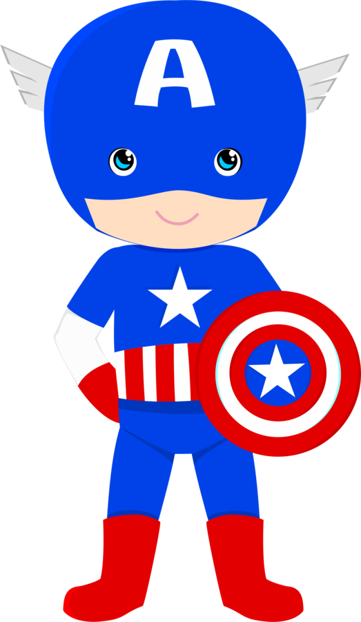 523x900 Baby clipart captain america