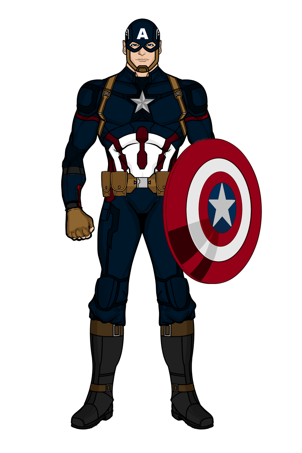 1024x1536 Captain America Mark III (Civil War)(Heromachine) by aniartluke82